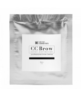 CC BROW Хна для бровей, цвет - черный (в саше) 5 гр