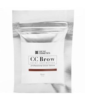 CC BROW Хна для бровей, цвет - коричневый (в саше) Color Correction 10 гр