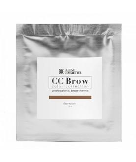CC BROW Хна для бровей, цвет - серо-коричневый (в саше) 5 гр