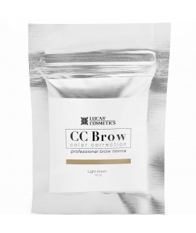CC BROW Хна для бровей, цвет - светло-коричневый (в саше) 10 гр