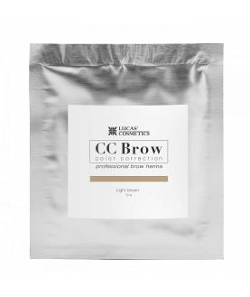 CC BROW Хна для бровей, цвет - светло-коричневый (в саше) 5 гр