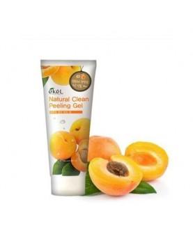 EKEL Пилинг-скатка с экстрактом абрикоса Apricot Natural Clean Peeling Gel 100мл