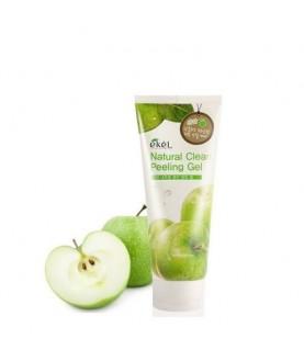 EKEL Пилинг-скатка с экстрактом зеленого яблока, Apple Natural Clean Peeling Gel 100мл
