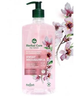FARMONA Мицеллярная очищающая жидкость Цветок Миндаля Herbal Care 400 мл