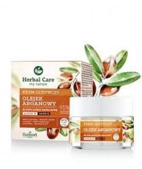 FARMONA Восстанавливающий крем для лица Аргановое масло на день/ночь Herbal Care 50 мл