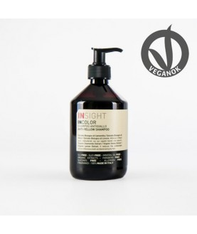 INSIGHT Шампунь для нейтрализации жёлтого оттенка волос ANTI-YELLOV SHAMPOO bottel  400 ml