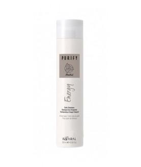 KAARAL Интенсивный энергетический шампунь с ментолом для волос ENERGY SHAMPOO 100 мл