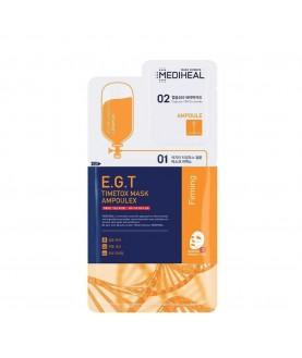MEDIHEAL Набор для лица (сыворотка, маска) Mediheal E.G.T Timetox Mask Ampoulex 25мл+3мл