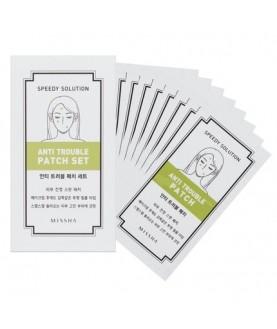 MISSHA Маска-патч для лица (набор 8 шт) Speedy Solution Anti Trouble Patch Set