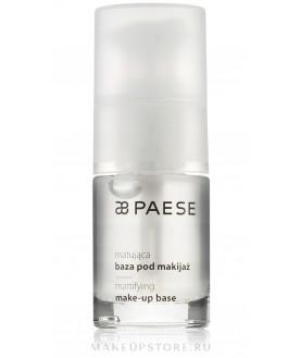 PAESE База под макияж матирующая Mattifying make-up base 15мл.