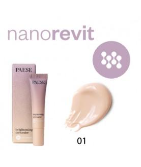PAESE Корректор (светоотражающий) Nanorevit Brightening concealer 8.5 мл