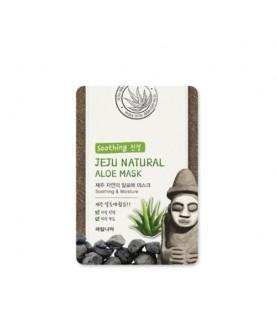 WELCOS Маска для лица тканевая успокаивающая Jeju Natural Aloe Mask 20 мл