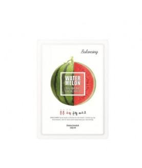 WELCOS Маска для лица тканевая увлажняющая Kwailnara Watermelon Balancing Facial Mask  20 мл